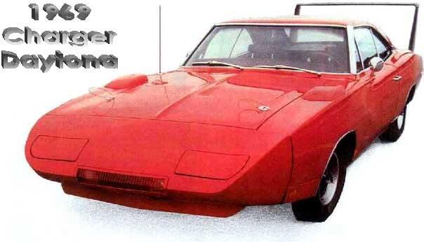 1969 Charger Daytona Wing Car Conversion Kit Body Parts